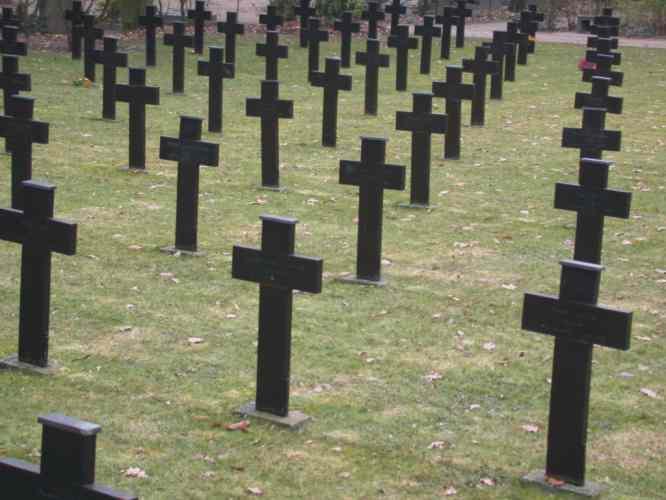 viele Kreuze